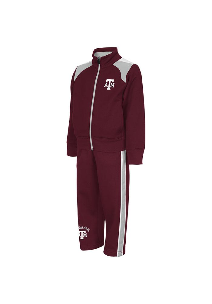 Colosseum Texas A&M Aggies Toddler Maroon Quarterpipe Set Top and Bottom - Image 2
