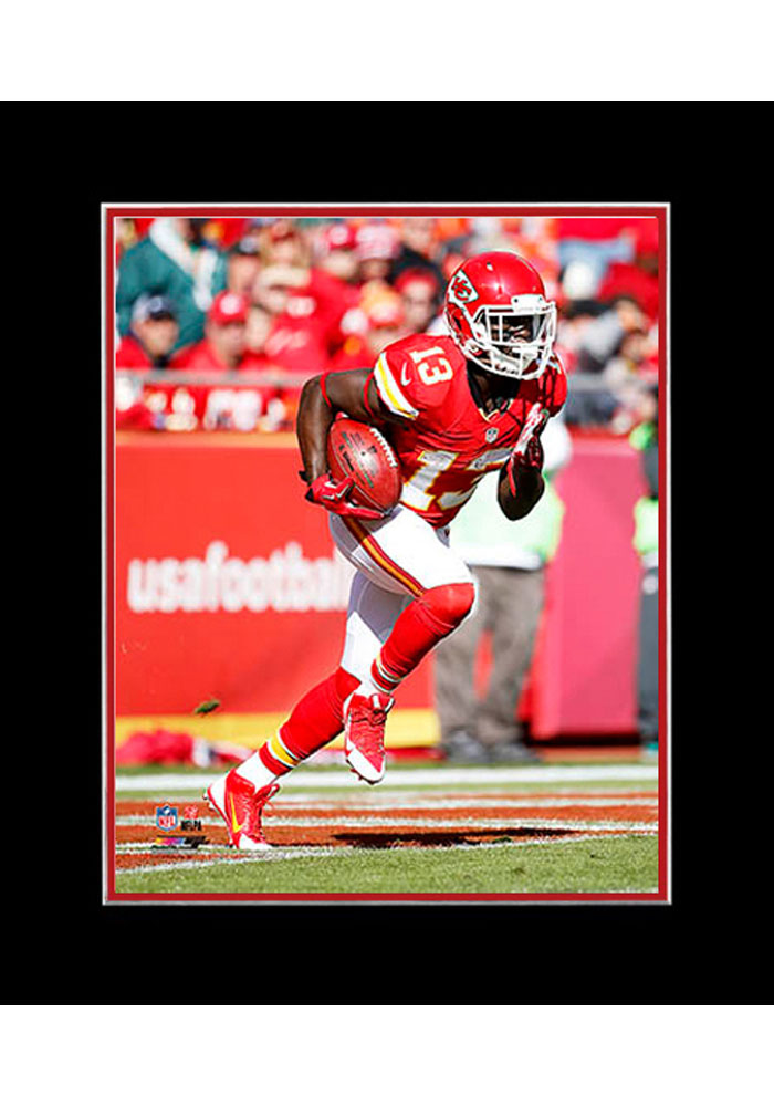 DeAnthony Thomas Kansas City Chiefs Matted Player Photo Unframed Poster - Image 1