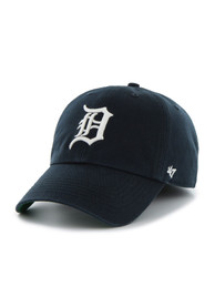 Detroit Tigers 47 Navy Blue 47 Franchise Fitted Hat