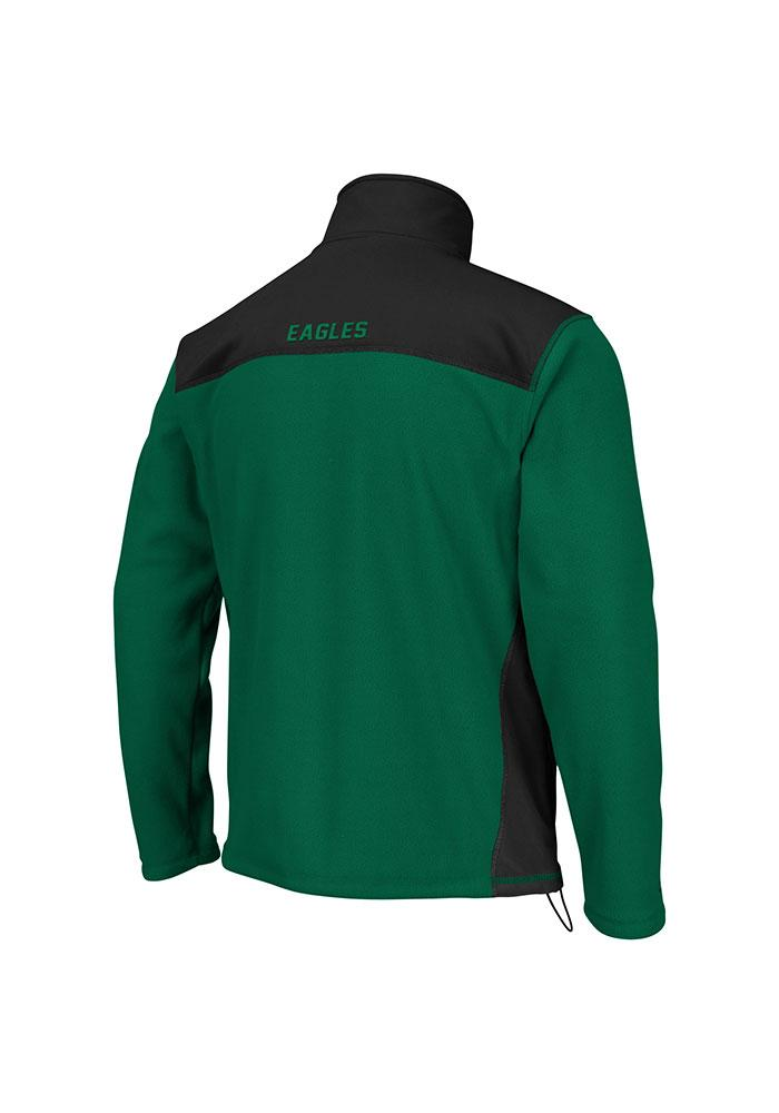 Colosseum Eastern Michigan Eagles Mens Green Halfpipe Light Weight Jacket - Image 2