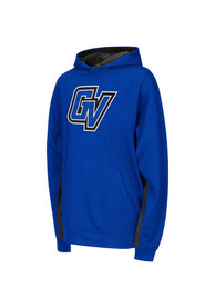 Grand Valley State Lakers Kids Blue Armory Hooded Sweatshirt