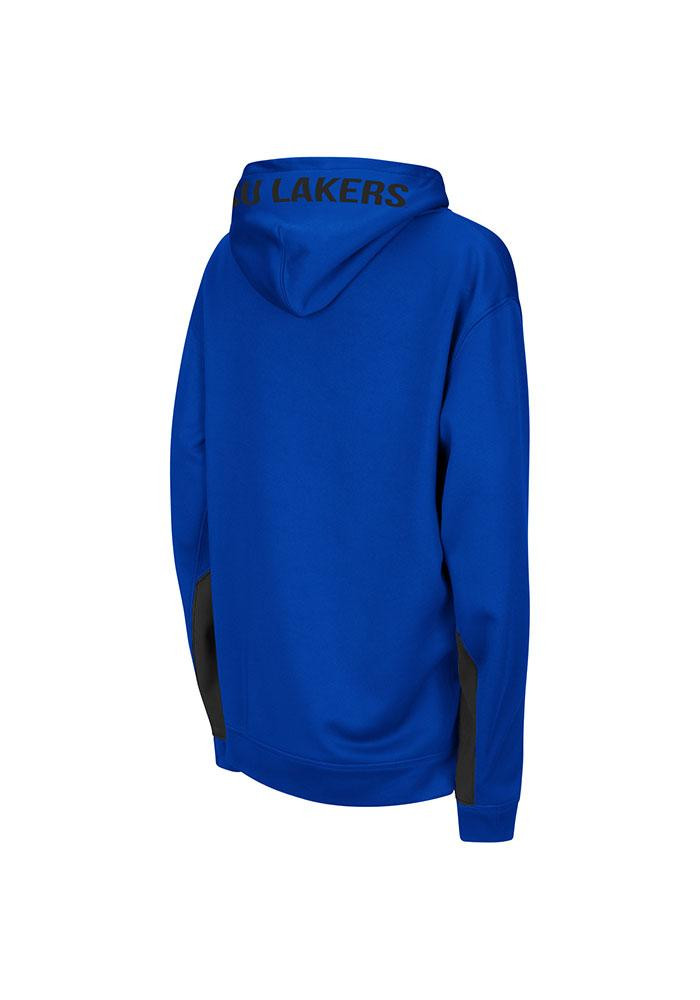 Colosseum Grand Valley State Lakers Kids Blue Armory Long Sleeve Hoodie - Image 1