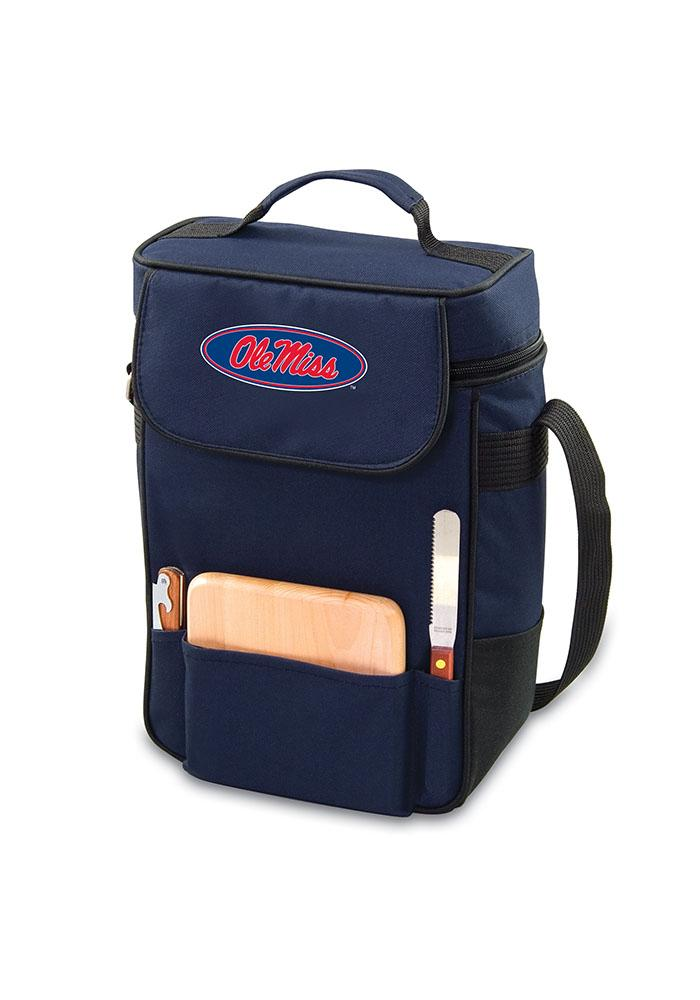 Ole Miss Rebels 17x12x7 Duet Wine Tote Cooler - Image 1