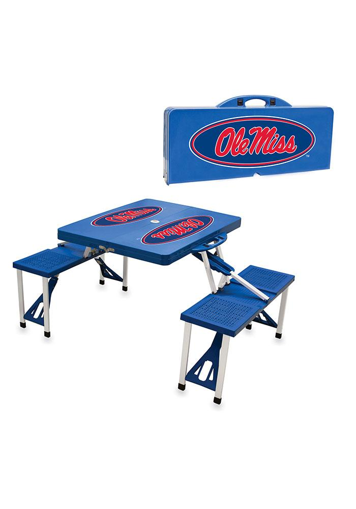 Ole Miss Rebels 36x6x18 Table - Image 1