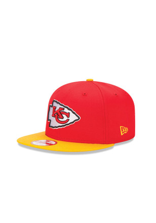 New Era Kansas City Chiefs Red Baycik 9FIFTY Snapback Hat 4d0628bfd
