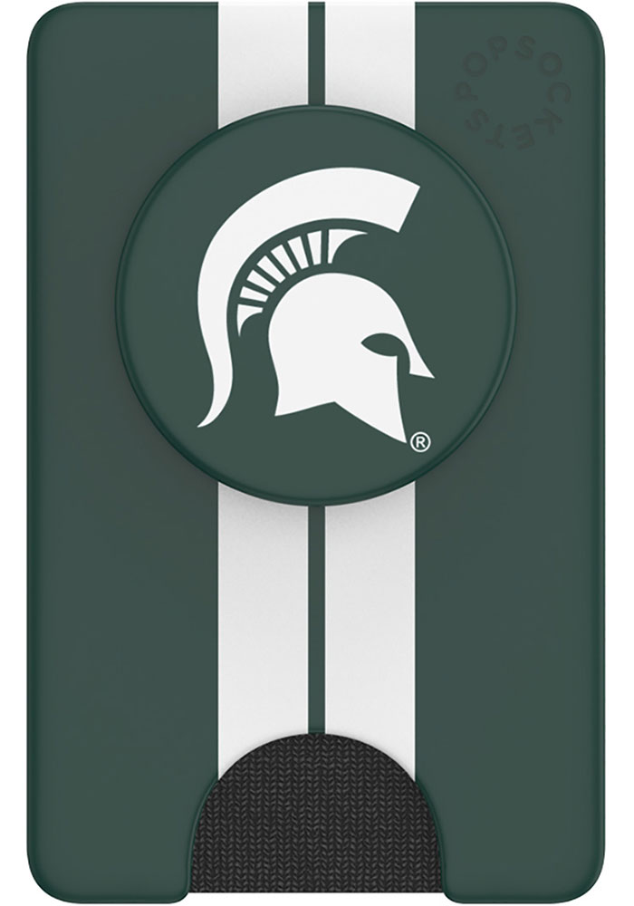 Michigan State Spartans Green Wallet PopSocket - Image 1