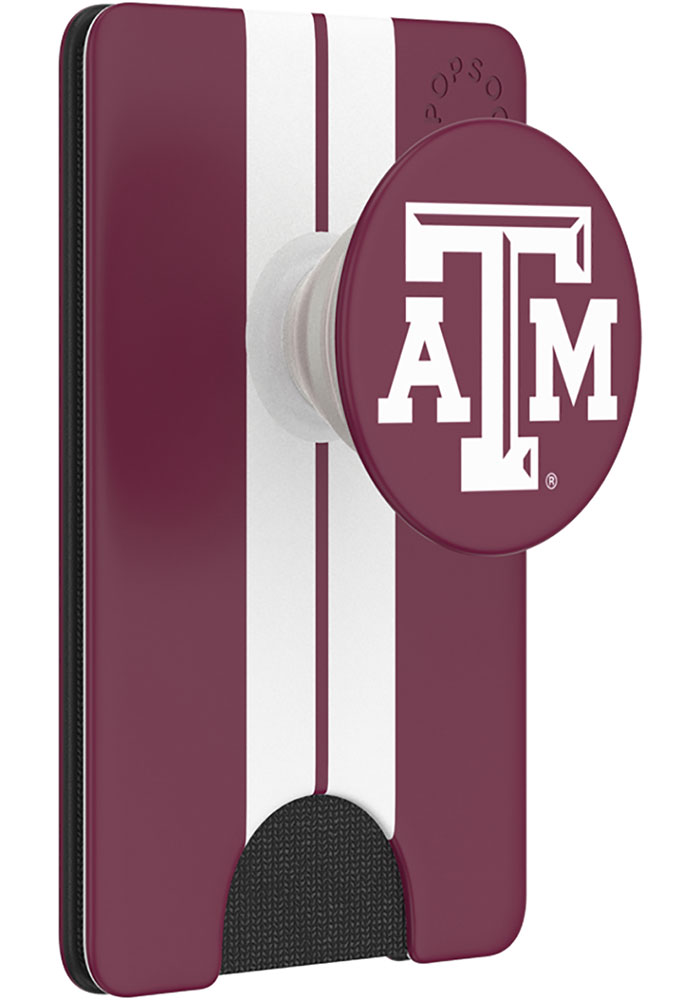 Texas A&M Aggies Maroon Wallet PopSocket - Image 1