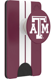 Texas A&M Aggies Maroon Wallet PopSocket