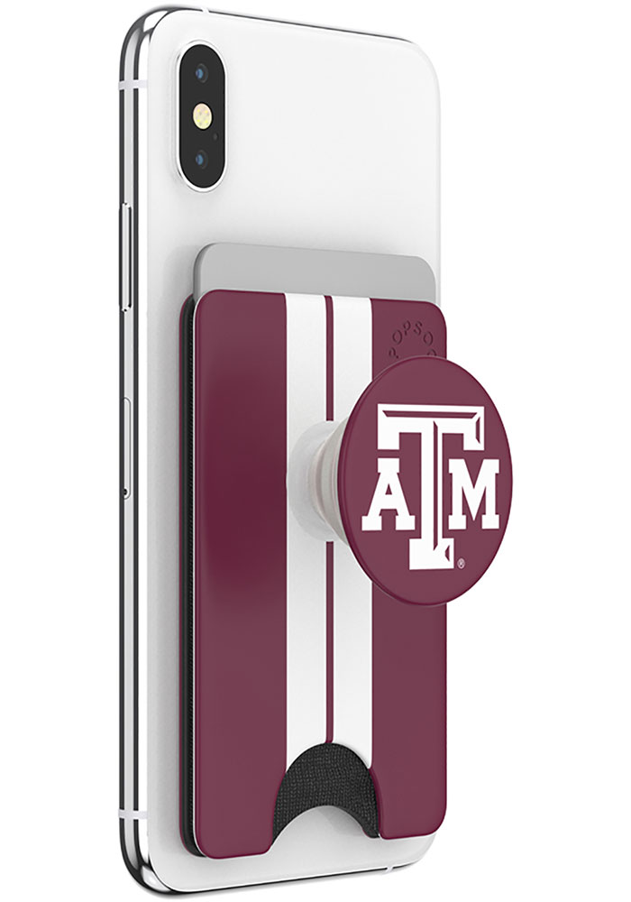 Texas A&M Aggies Maroon Wallet PopSocket - Image 3
