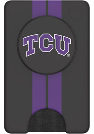 TCU Horned Frogs Black Wallet PopSocket
