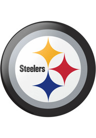 Pittsburgh Steelers Black Logo PopSocket