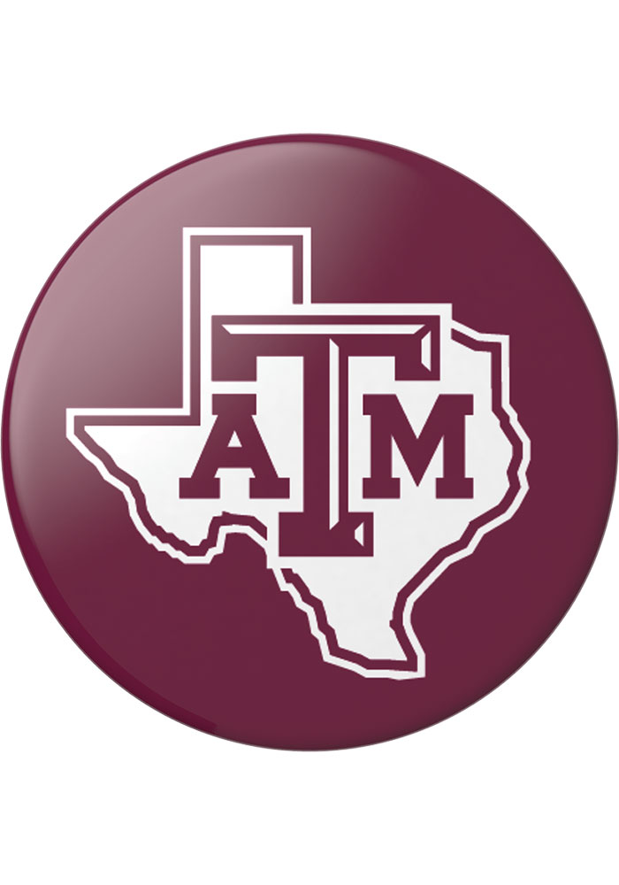 Texas A&M Aggies Red Logo PopSocket - Image 1