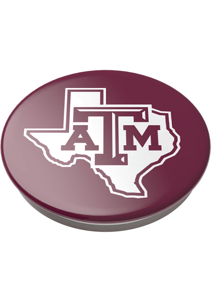 Texas A&M Aggies Red Logo PopSocket - Image 3