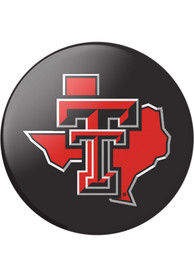 Texas Tech Red Raiders Red Logo PopSocket