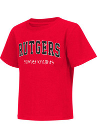 Colosseum Rutgers Scarlet Knights Toddler Red Rally Loud T-Shirt