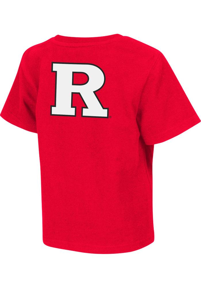 Colosseum Rutgers Scarlet Knights Toddler Red Rally Loud Short Sleeve T-Shirt - Image 1