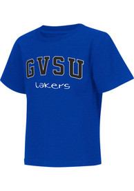 Colosseum Grand Valley State Lakers Toddler Blue Rally Loud T-Shirt