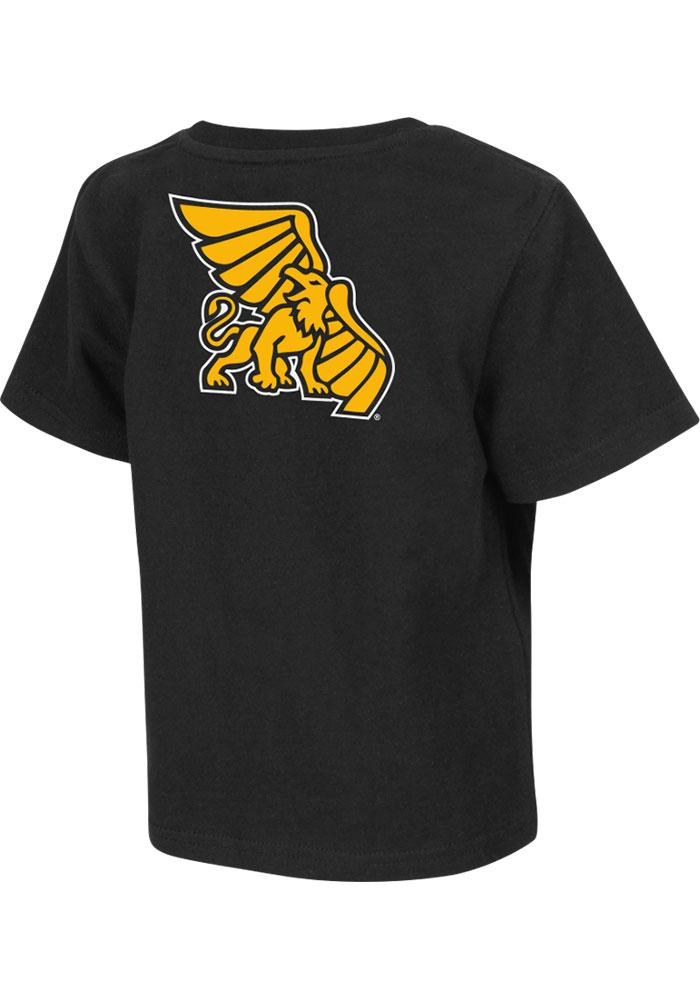 Colosseum Missouri Western Griffons Toddler Black Rally Loud Short Sleeve T-Shirt - Image 2