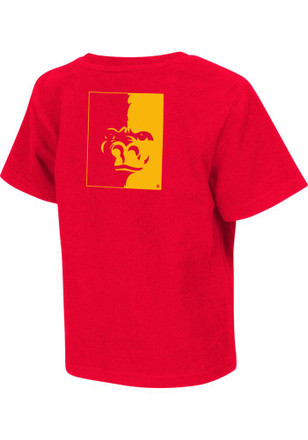 Colosseum Pitt State Toddler Red Rally Loud T-Shirt