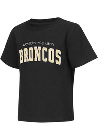 Colosseum Western Michigan Broncos Toddler Black Rally Loud T-Shirt