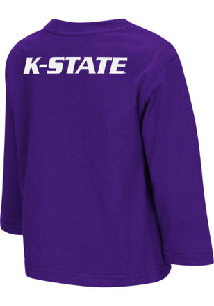 Colosseum K-State Wildcats Toddler Purple Big Logo T-Shirt
