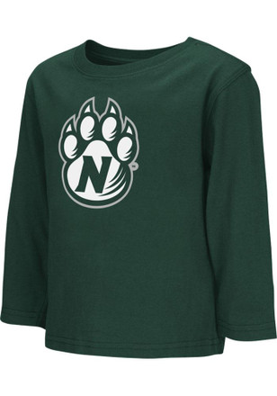 Colosseum Northwest Missouri State Bearcats Toddler Green Big Logo T-Shirt