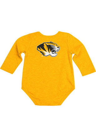 Colosseum Missouri Tigers Baby Gold Rally Loud Creeper