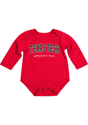 Colosseum Texas Tech Red Raiders Baby Red Rally Loud Creeper