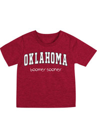 Oklahoma Sooners Infant Colosseum Arch Rally Loud T-Shirt - Crimson