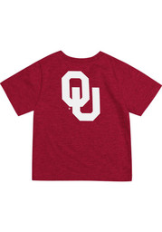 Oklahoma Sooners Colosseum Red Short Sleeve Arch Rally Loud T-Shirt