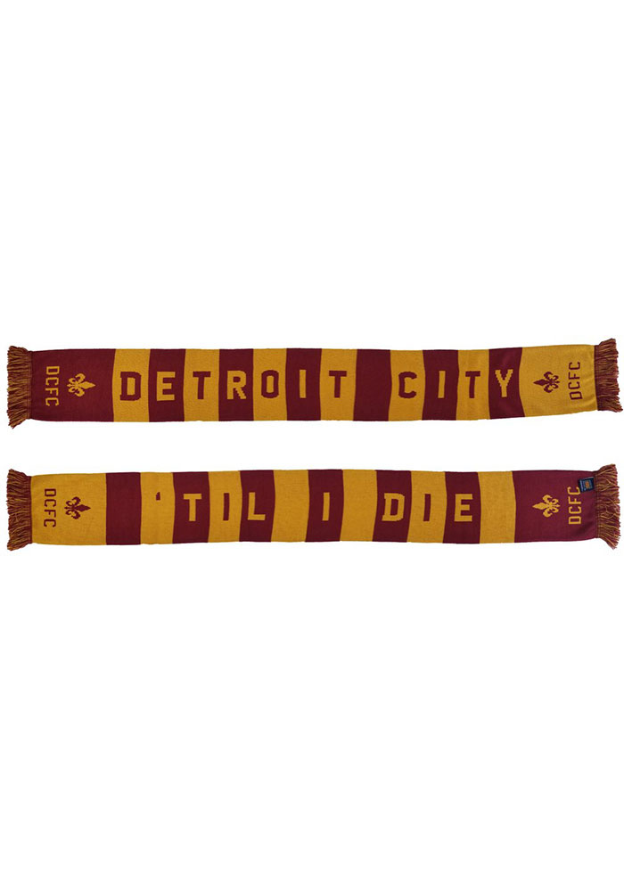 Detroit City FC 2019 Mens Scarf - Image 1