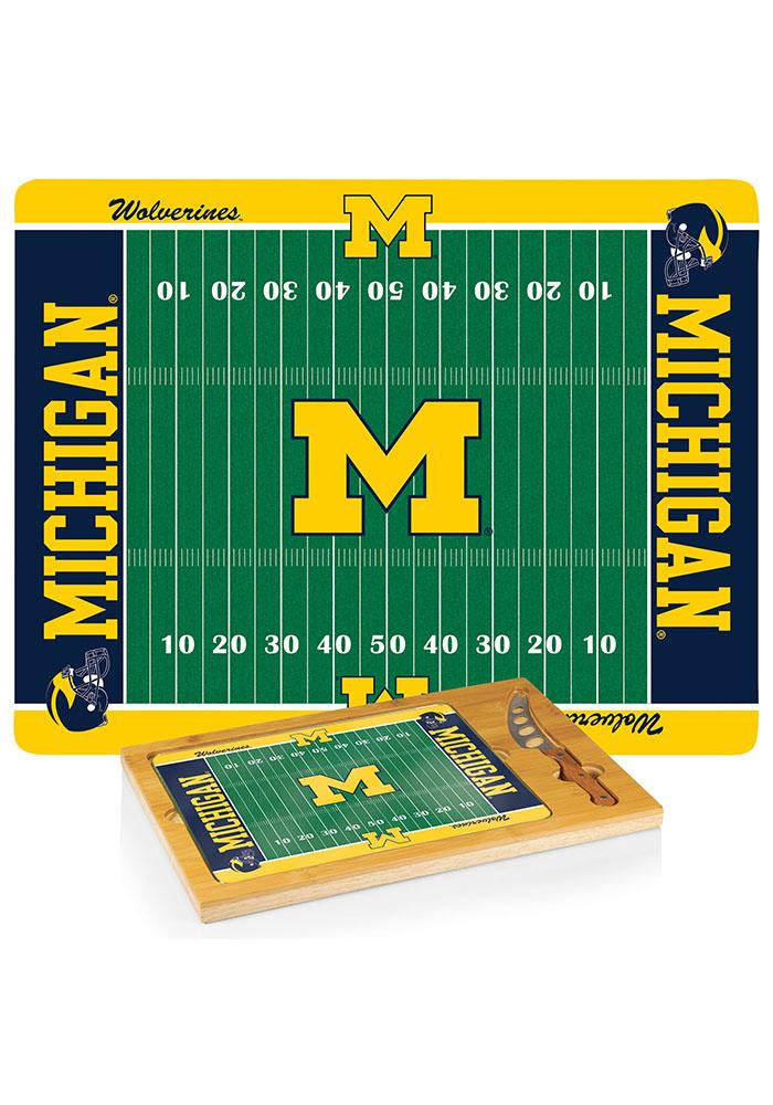 Michigan Wolverines 18x13x3 Icon Cutting Board - Image 1
