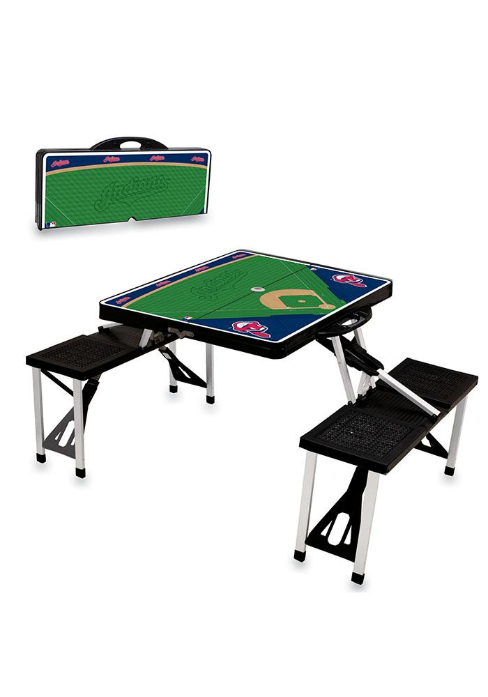 Cleveland Indians 36x6x18 Table - Image 1