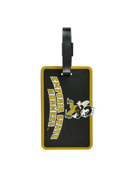 Emporia State Hornets Rubber Luggage Tag - Black