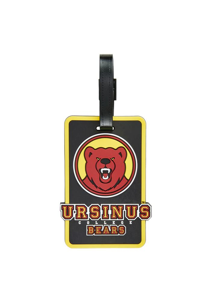 Ursinus Bears Red Rubber Luggage Tag - Image 1