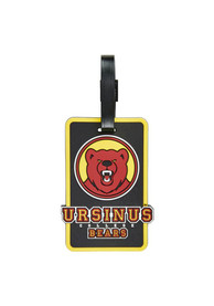 Ursinus Bears Rubber Luggage Tag - Red