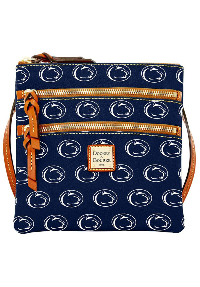 Penn State Nittany Lions Dooney and Bourke Triple Zip Womens Purse - Image 1