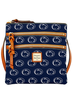 Penn State Nittany Lions Dooney and Bourke Triple Zip Womens Purse