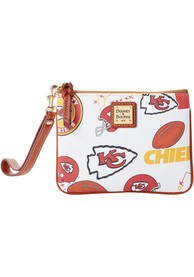 Kansas City Chiefs Womens Dooney & Bourke Stadium Wristlet Purse - Red