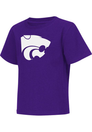 Colosseum K-State Wildcats Toddler Purple Rally Loud T-Shirt