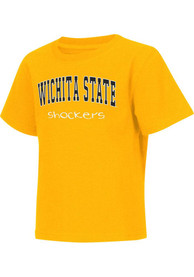 Colosseum Wichita State Shockers Toddler Gold Rally Loud T-Shirt
