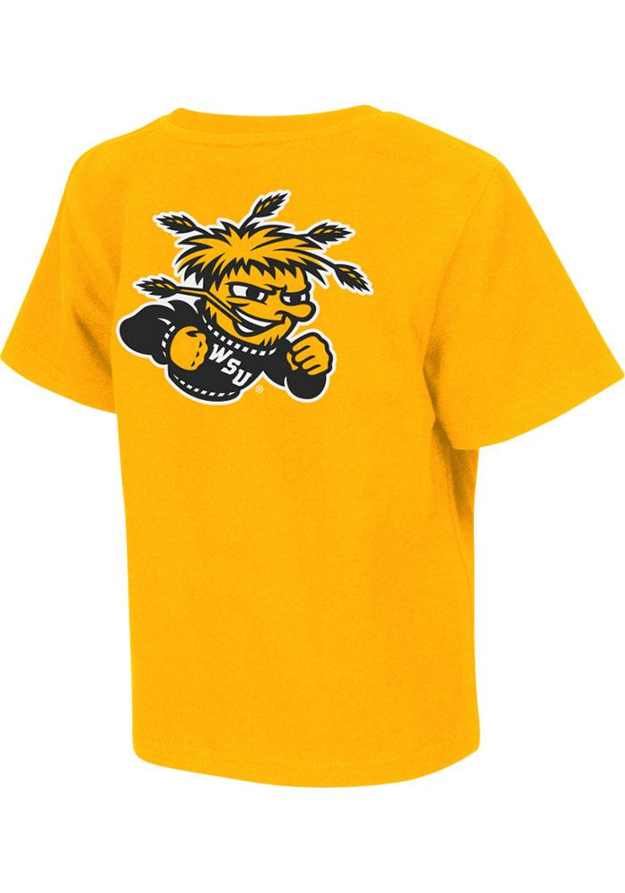 Colosseum Wichita State Shockers Toddler Gold Rally Loud Short Sleeve T-Shirt - Image 1