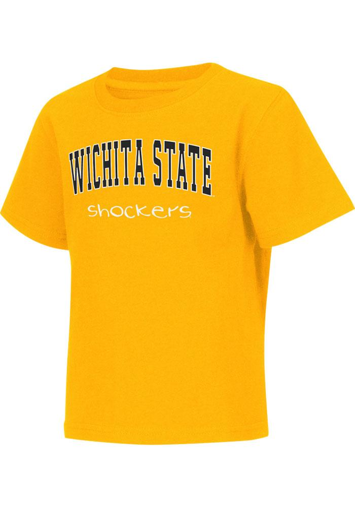 Colosseum Wichita State Shockers Toddler Gold Rally Loud Short Sleeve T-Shirt - Image 2