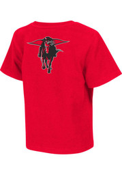Colosseum TTech Red Raiders Toddler red Rally Loud T-Shirt
