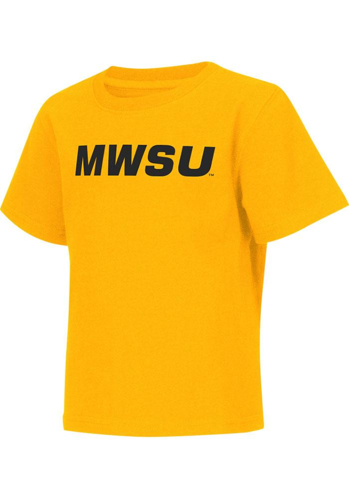 Colosseum Missouri Western Griffons Toddler Gold Rally Loud Short Sleeve T-Shirt - Image 2
