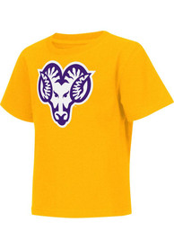 Colosseum West Chester Golden Rams Toddler Gold Rally Loud T-Shirt