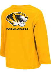 Colosseum Mizzou Tigers Toddler Gold Rally Loud T-Shirt