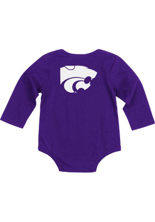 Colosseum K-State Wildcats Baby Purple Rally Loud Creeper