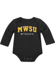 Colosseum Missouri Western Griffons Baby Black Rally Loud One Piece