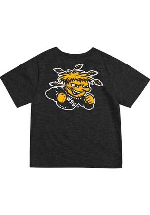 Wichita State Shockers Colosseum Black Short Sleeve Arch Rally Loud T-Shirt